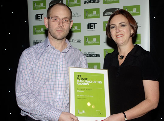 EEF's Future Manufacturing Business Growth Award