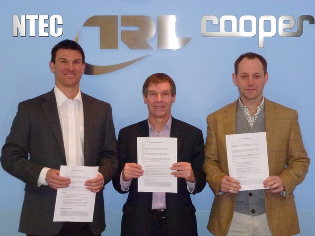 MoU signed between Cooper, NTEC and the TRL
