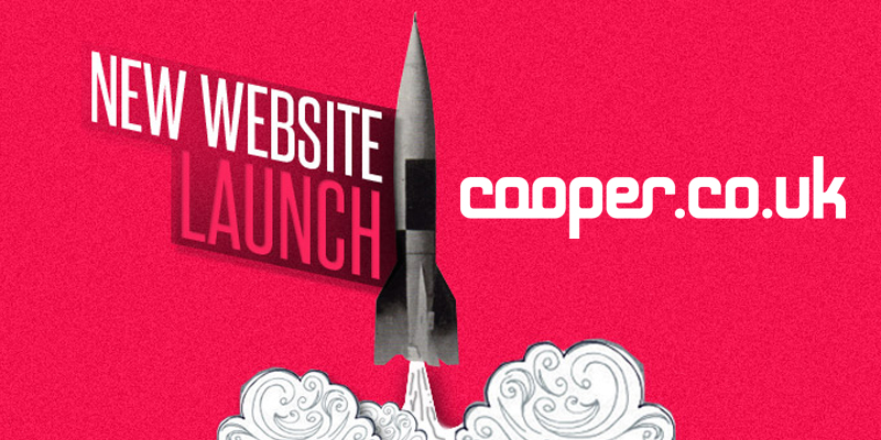Cooper launches new website