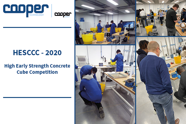 Collection of images from the HESCCC 2020. High Early Strength Concrete Cube Competition.